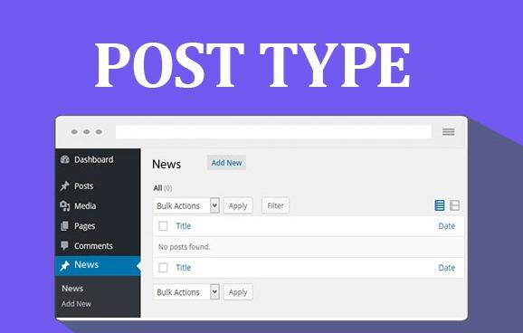 Wordpress post type(yazı tipi) oluşturma